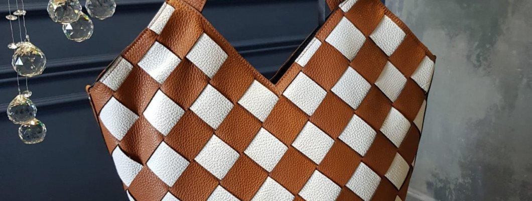 Жизнь как шахматная партия – идея плетеных сумок от Ripani
