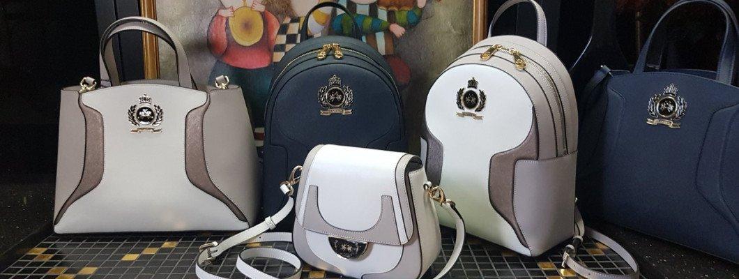 Женские кожаные сумки LA MARTINA