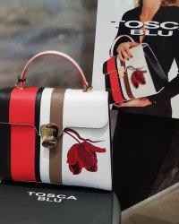 Каталог женских кожаных сумок итальянского бренда Tosca Blu (Тоска Блу) в Интернет-магазине Robinzon-bags