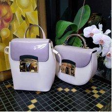 Лиловые сумки