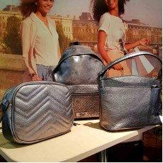Серебряные сумки