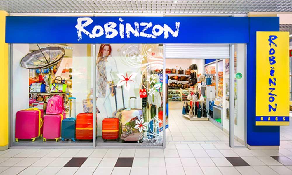 Вход в магазин сумок Robinzon bags в ТЦ Аврора Энгельс - торговая сеть магазинов ROBINZON-BAGS - престижная кожгалантерея по доступным ценам!