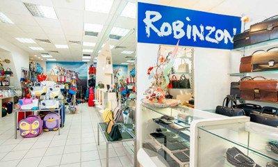 Торговый зал магазина сумок Robinzon bags в ТЦ Аврора Энгельс - торговая сеть магазинов ROBINZON-BAGS - престижная кожгалантерея по доступным ценам!