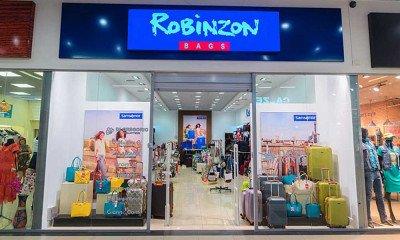Вход в магазин сумок Robinzon bags в ТРЦ Happy Молл Саратов - торговая сеть магазинов ROBINZON-BAGS - престижная кожгалантерея по доступным ценам!