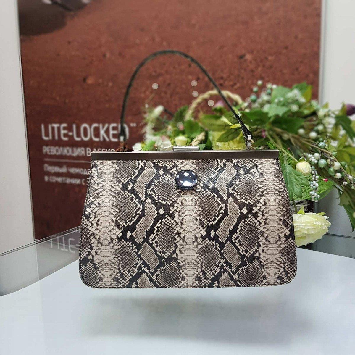 Женская кожаная сумка Arcadia 9279 mesis roccia из натуральной кожи