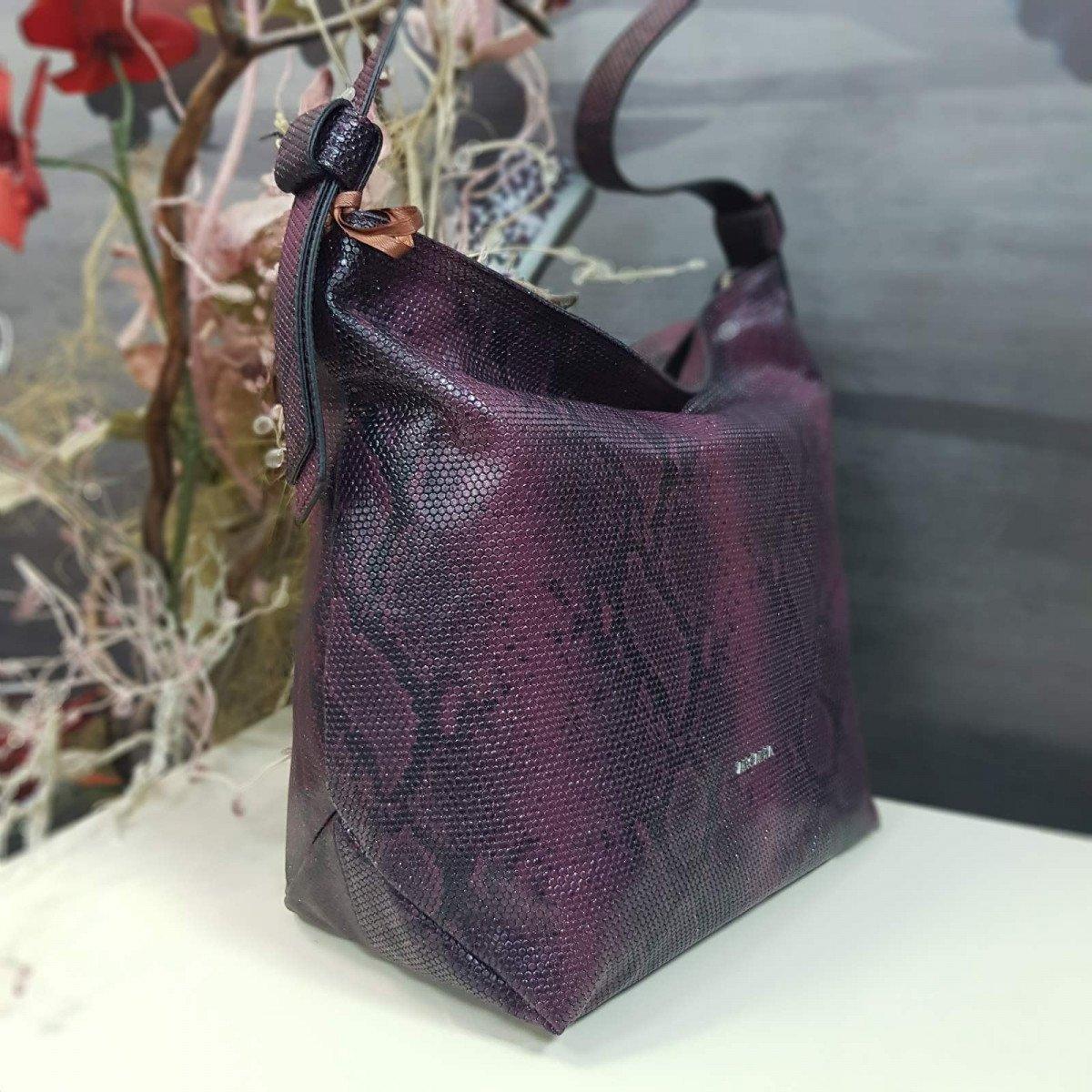 Женская кожаная сумка Arcadia 9567 matis rubino из натуральной кожи