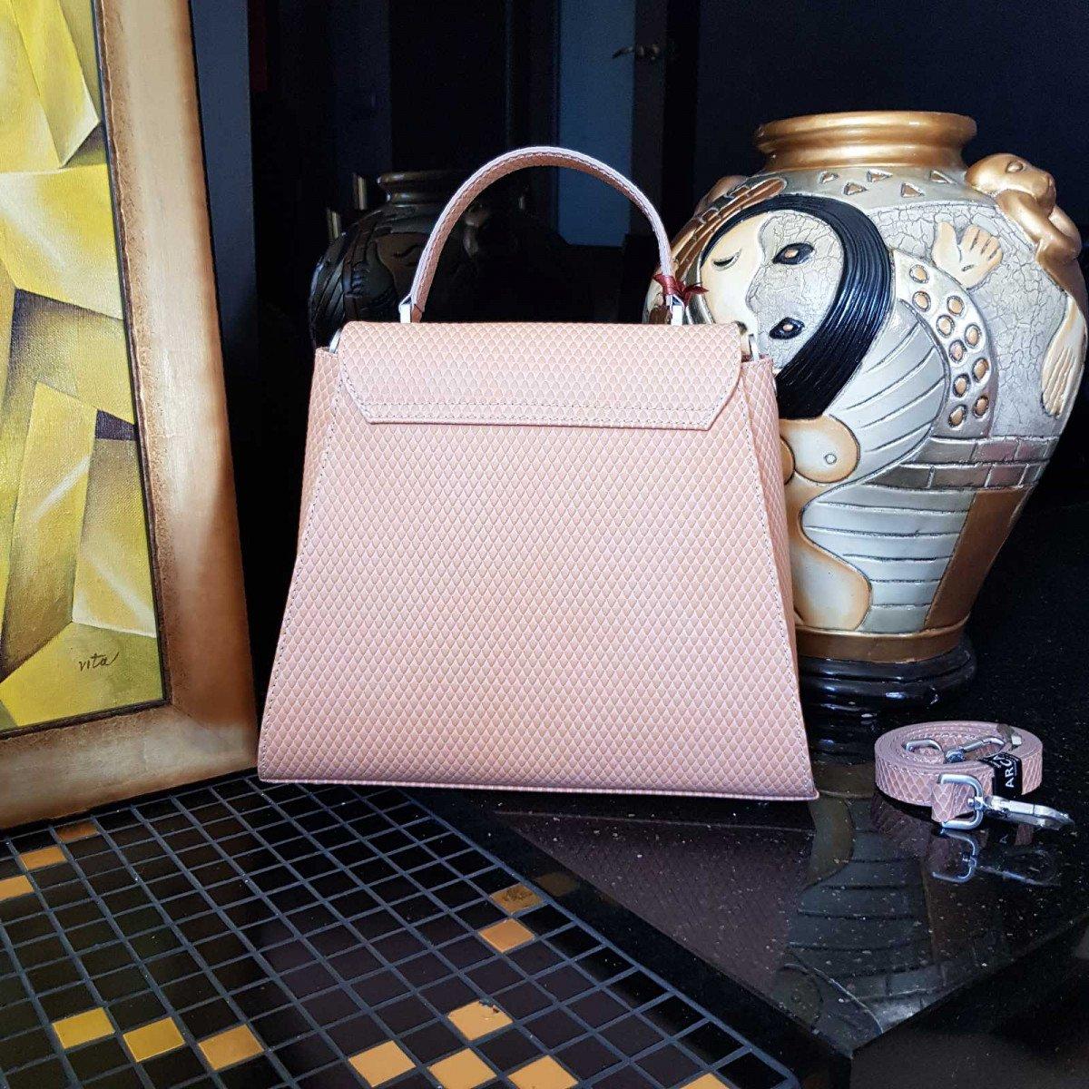 Женская кожаная сумка Arcadia 9190 vip ocra из натуральной кожи