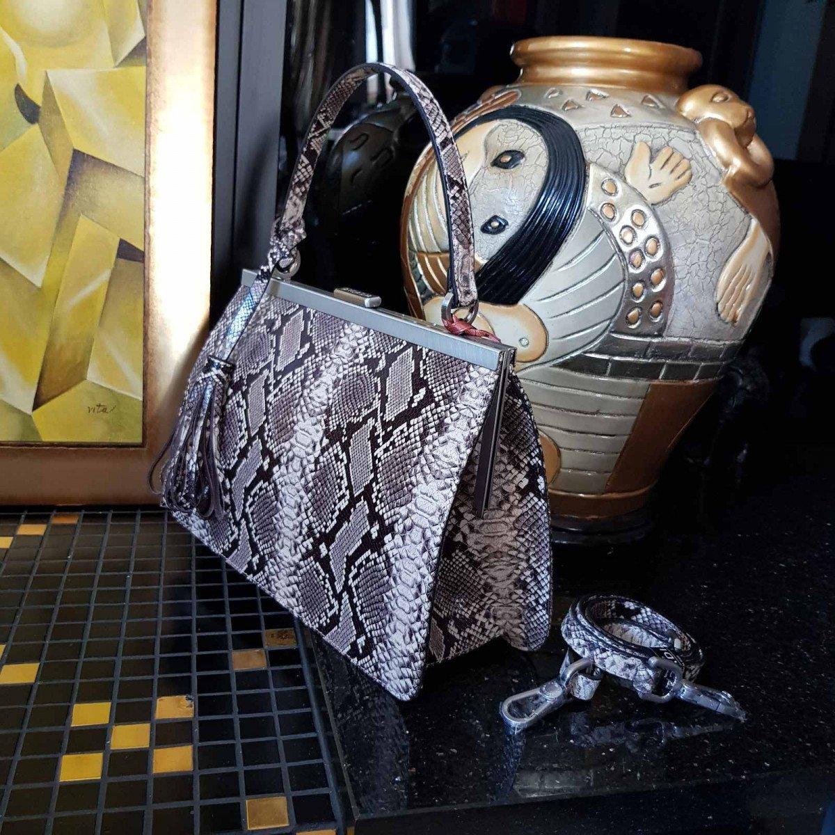 Женская кожаная сумка Arcadia 9279 mesis beige из натуральной кожи