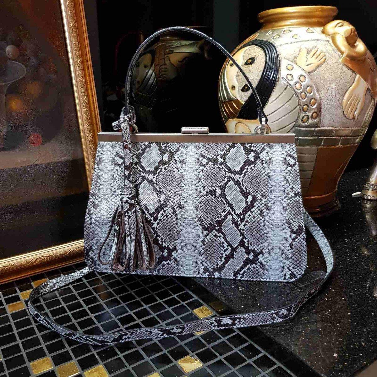 Женская кожаная сумка Arcadia 9279 mesis cielo из натуральной кожи