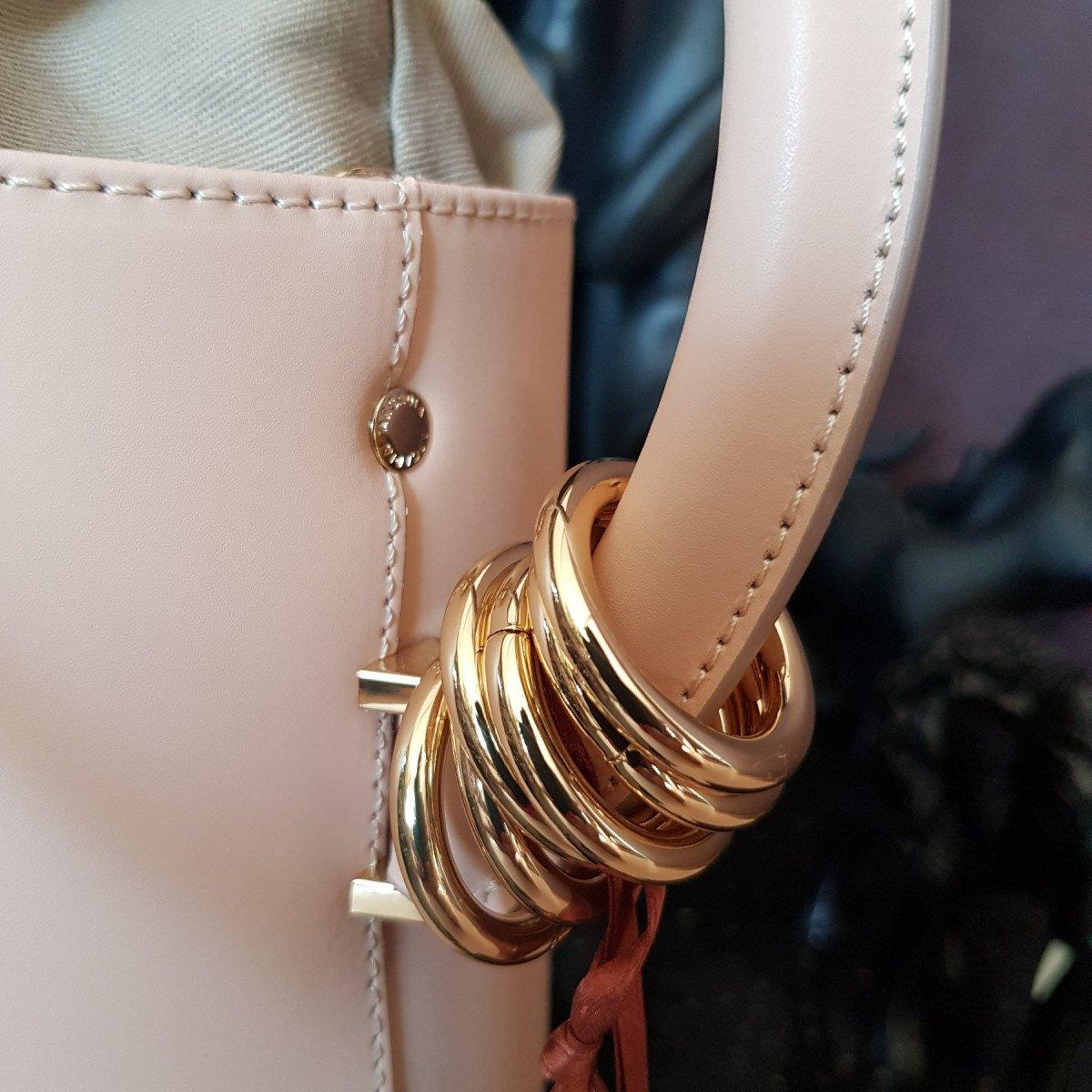 Итальянская женская сумка Arcadia 4586 ruga naturale из натуральной кожи