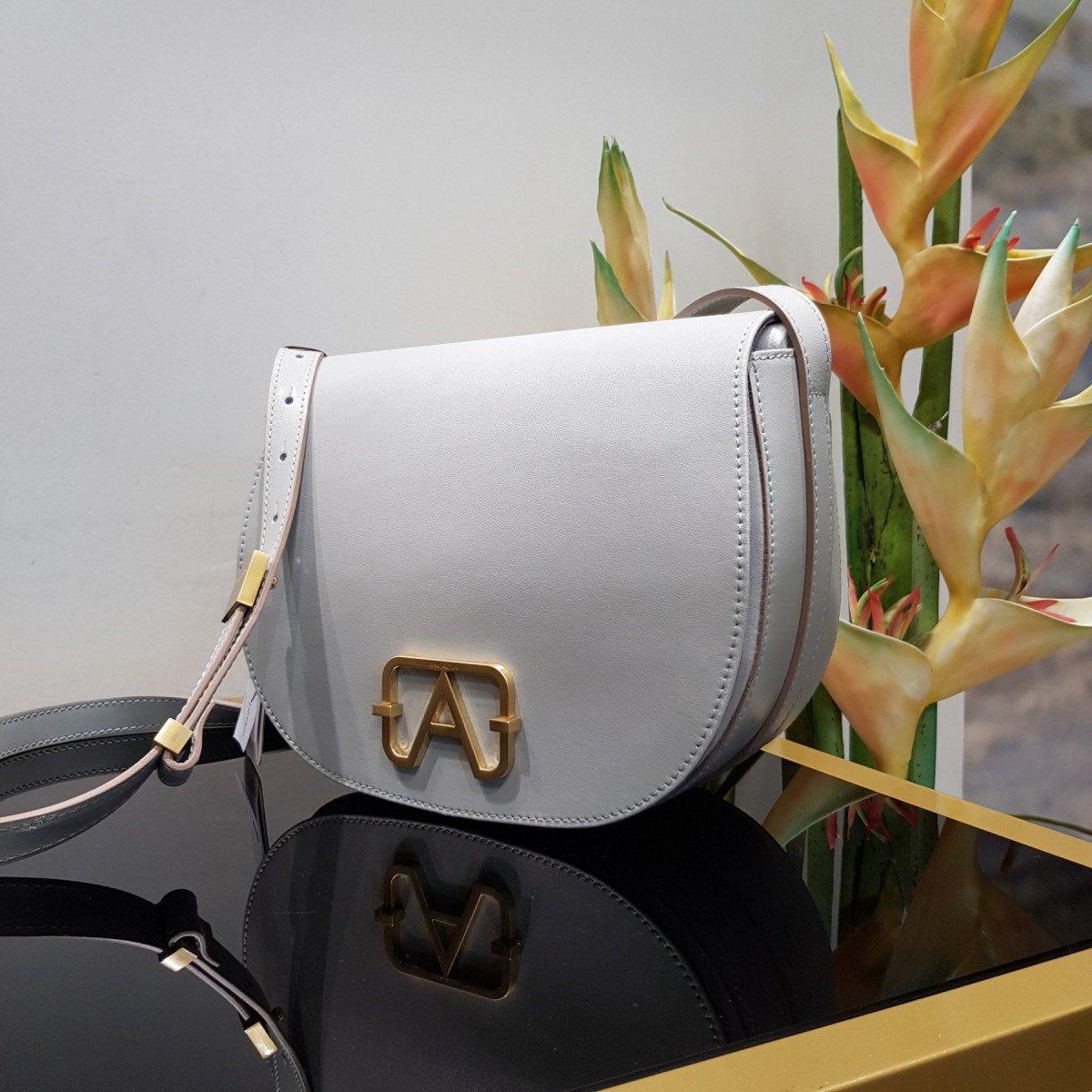 Итальянская женская сумка Arcadia 5455 corlux marmo из натуральной кожи