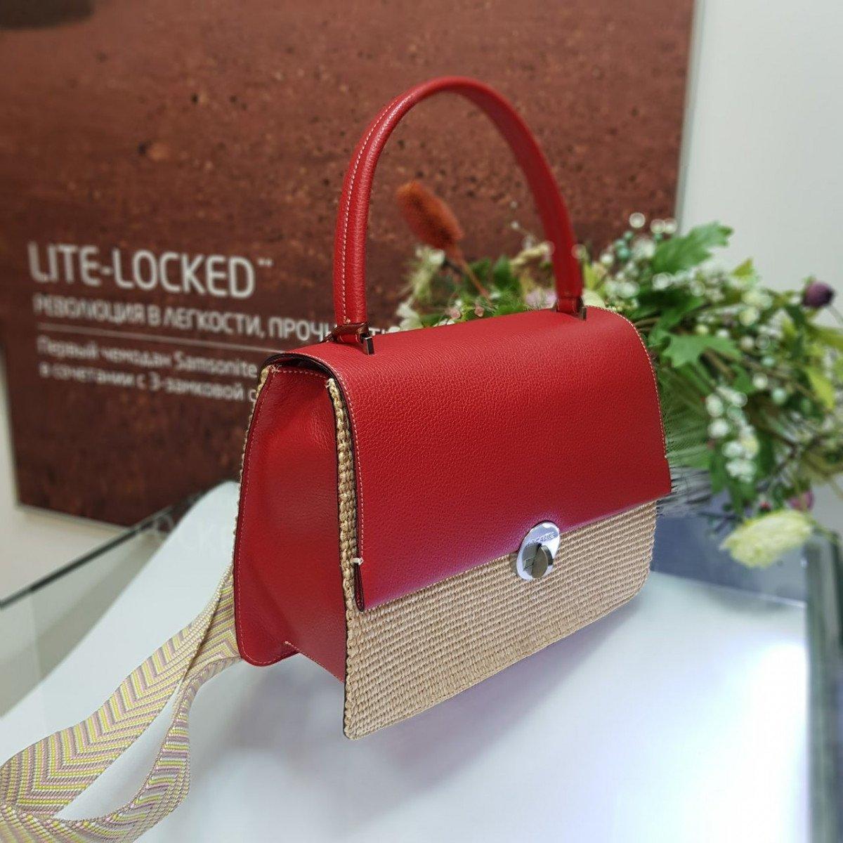 Женская кожаная сумка Arcadia 3017PA mir pa papavero из натуральной кожи