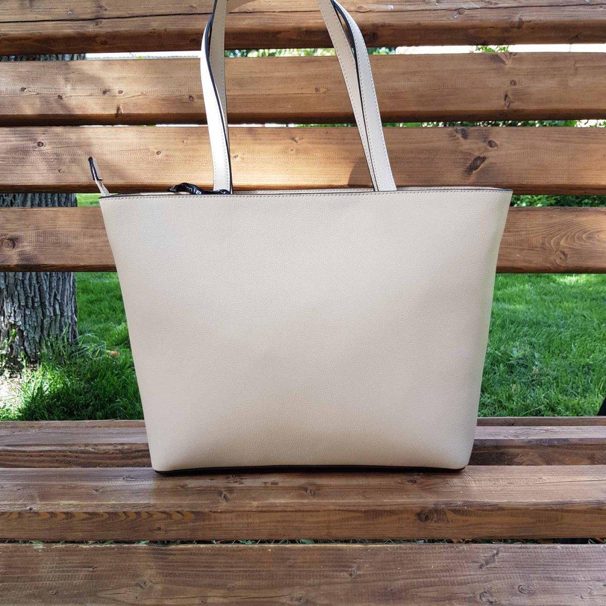Женская кожаная сумка Cromia 1404540 NUDE из натуральной кожи