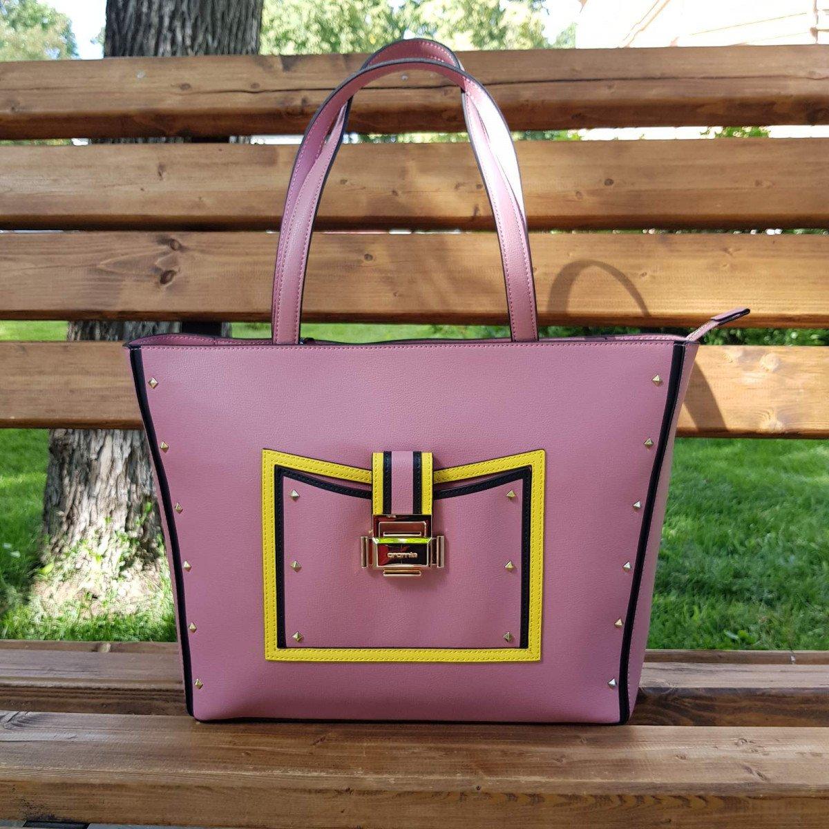 Женская кожаная сумка Cromia 1404540 ORCHIDEA из натуральной кожи