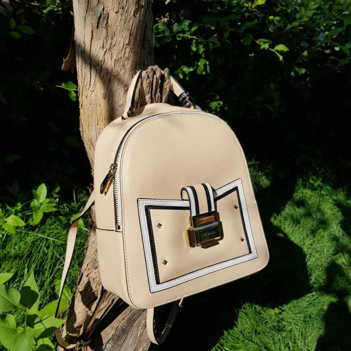 Женский кожаный рюкзак Cromia 1404543 NUDE из натуральной кожи