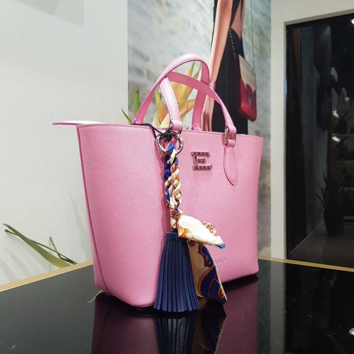 Женская кожаная сумка Ermanno Scervino 12400310 из натуральной кожи