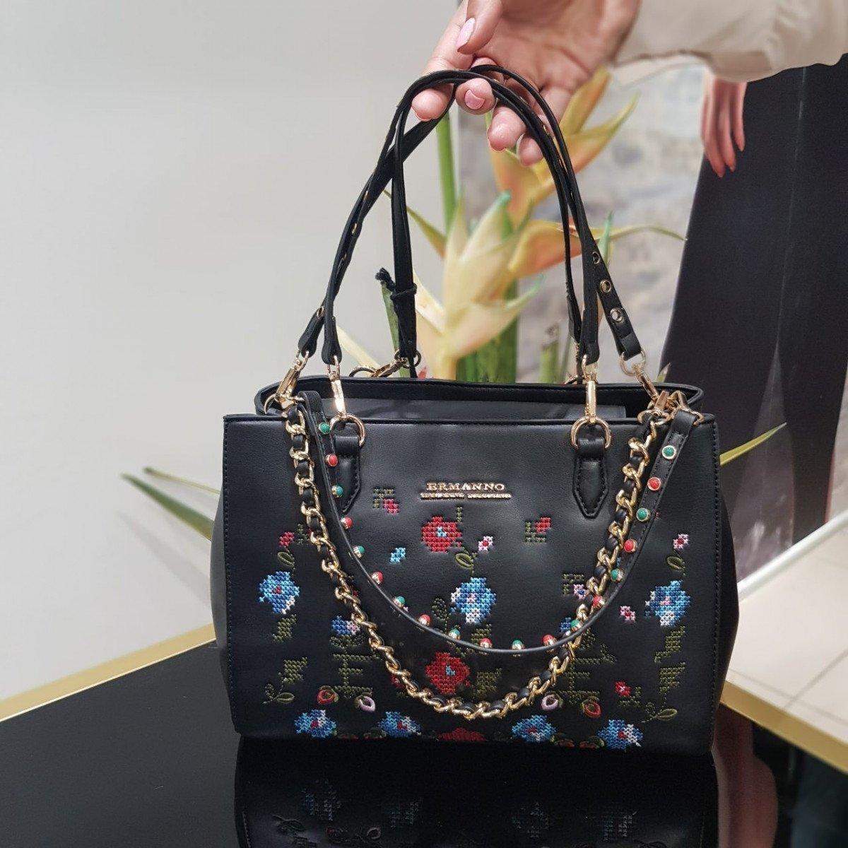 Женская кожаная сумка Ermanno Scervino 12400528 из экокожи