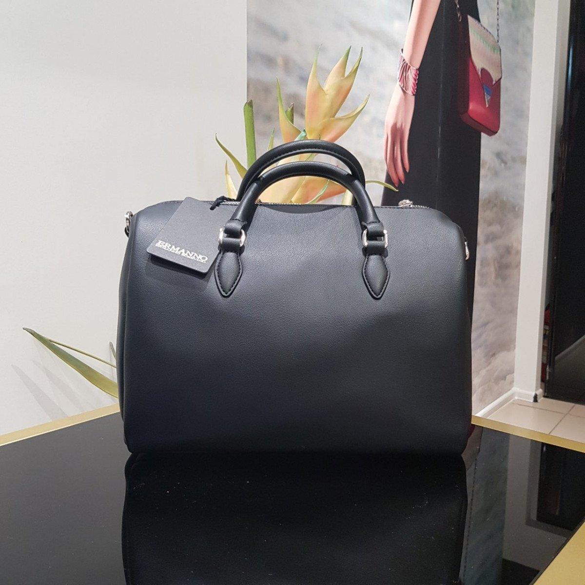 Женская кожаная сумка Ermanno Scervino 12400580 из экокожи