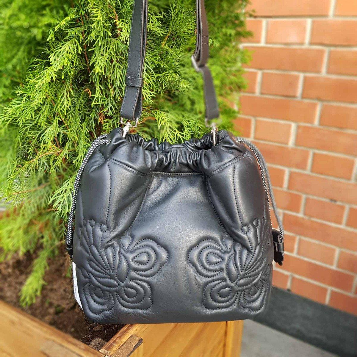 Женская кожаная сумка Furla 961721 из натуральной кожи