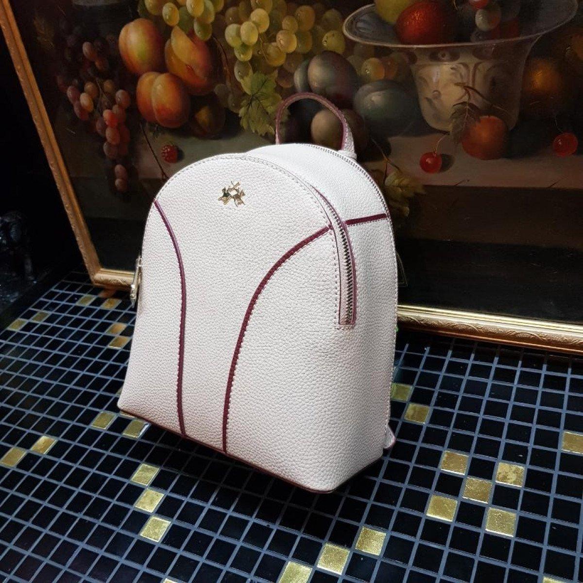 Женский кожаный рюкзак La Martina 41W330 O0004 cuban sand из натуральной кожи