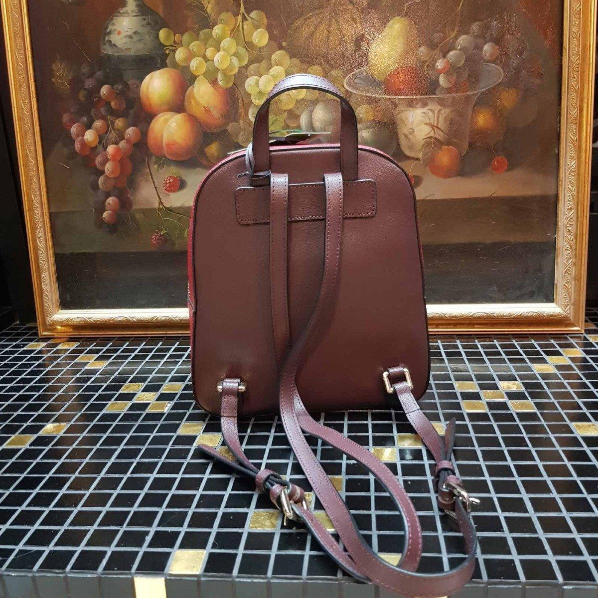 Женская кожаная сумка La Martina 41W361 O0032 puce b biking pewt из натуральной кожи