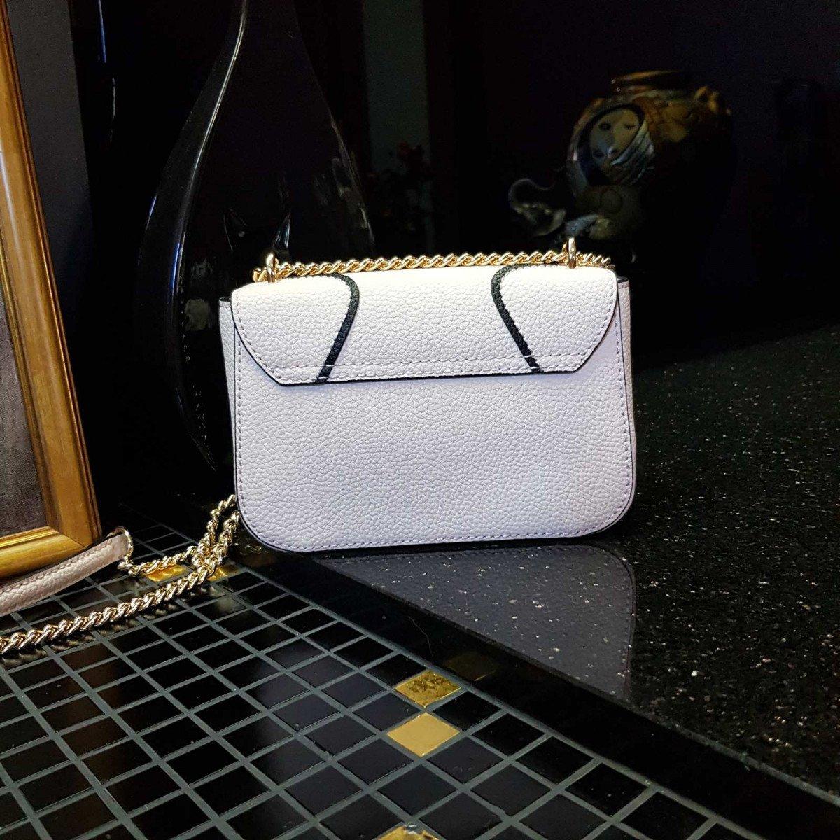Кожаная женская сумка LA Martina 41W413 P0004 milk из натуральной кожи из натуральной кожи