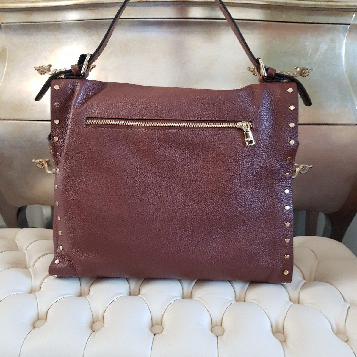 Женская кожаная сумка Ripani 2375OO.00060 Mandorla из натуральной кожи