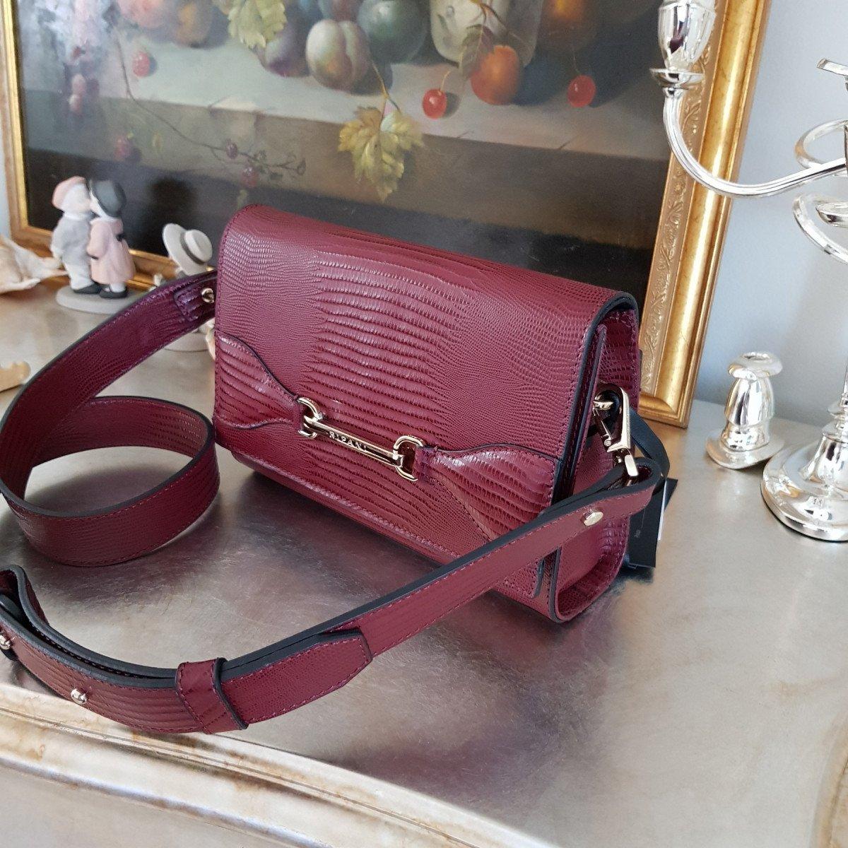 Женская кожаная сумка Ripani 2931TJ.00010 Bordeaux из натуральной кожи