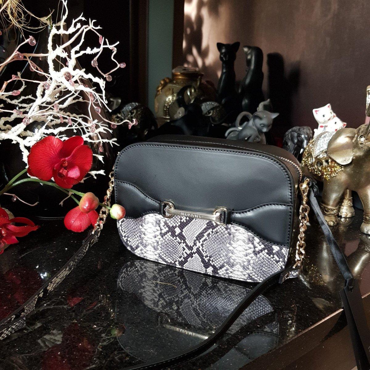 Женская кожаная сумка Ripani 2936HP.00327 Nero/bianco из натуральной кожи