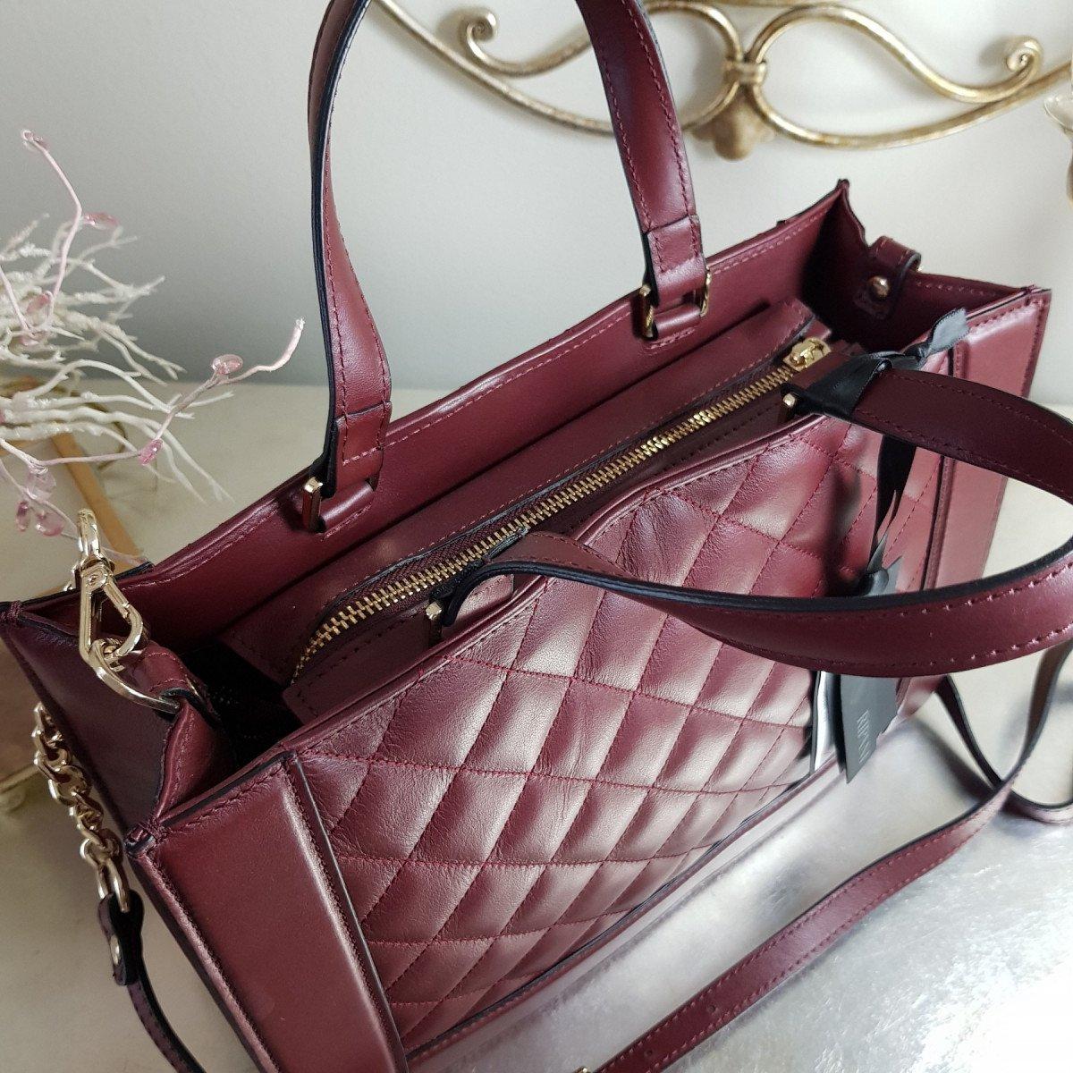 Женская кожаная сумка Ripani 9782LL.00010 bordeaux из натуральной кожи