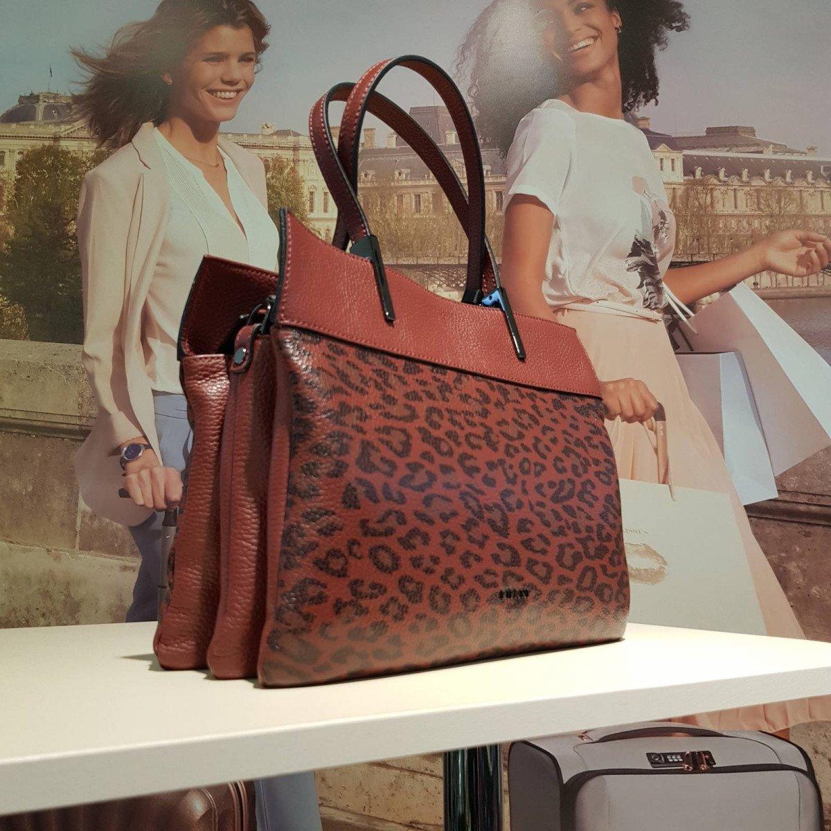 Женская кожаная сумка Ripani 9933QO.00041 ruggine из натуральной кожи