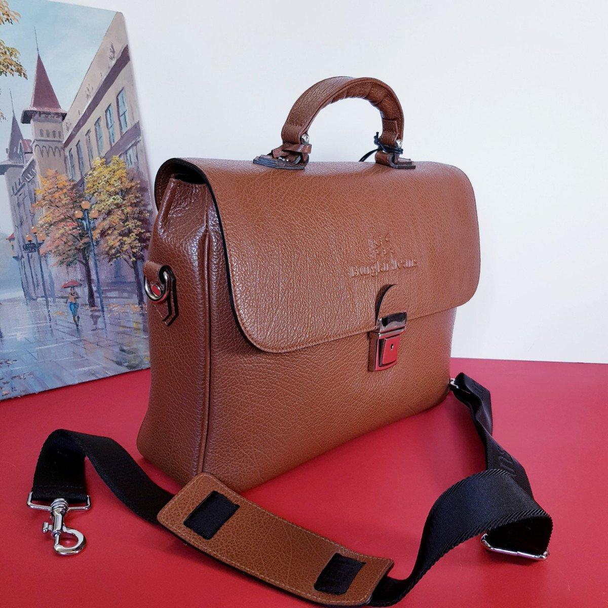 Женская кожаная сумка Sara Burglar A0S0S1031 MARRONE из натуральной кожи