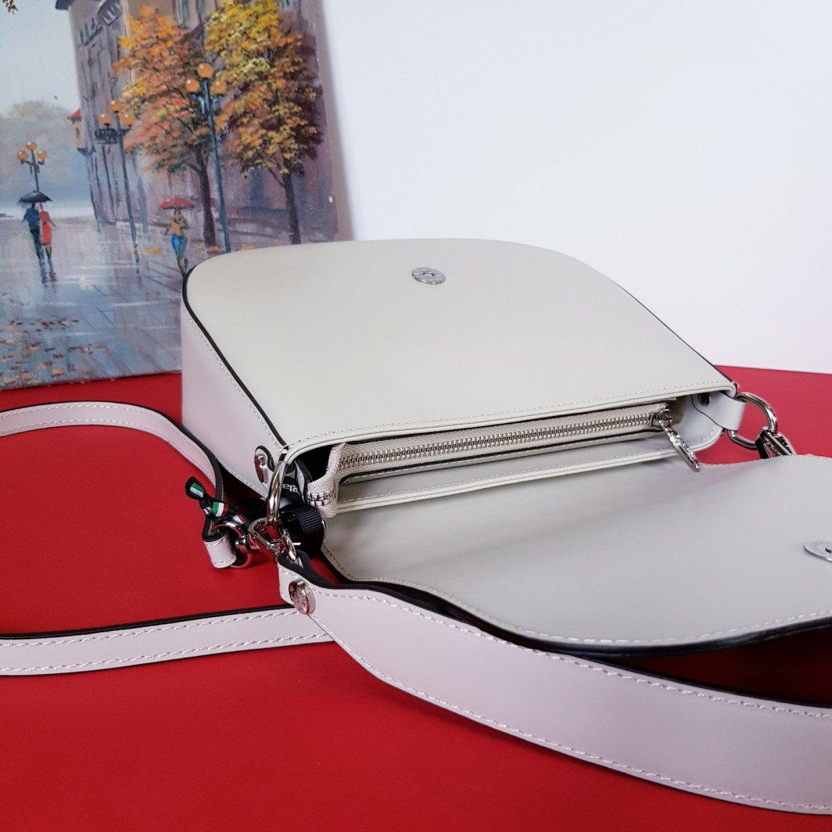 Женская кожаная сумка Sara Burglar A0S1H590 VERDE из натуральной кожи