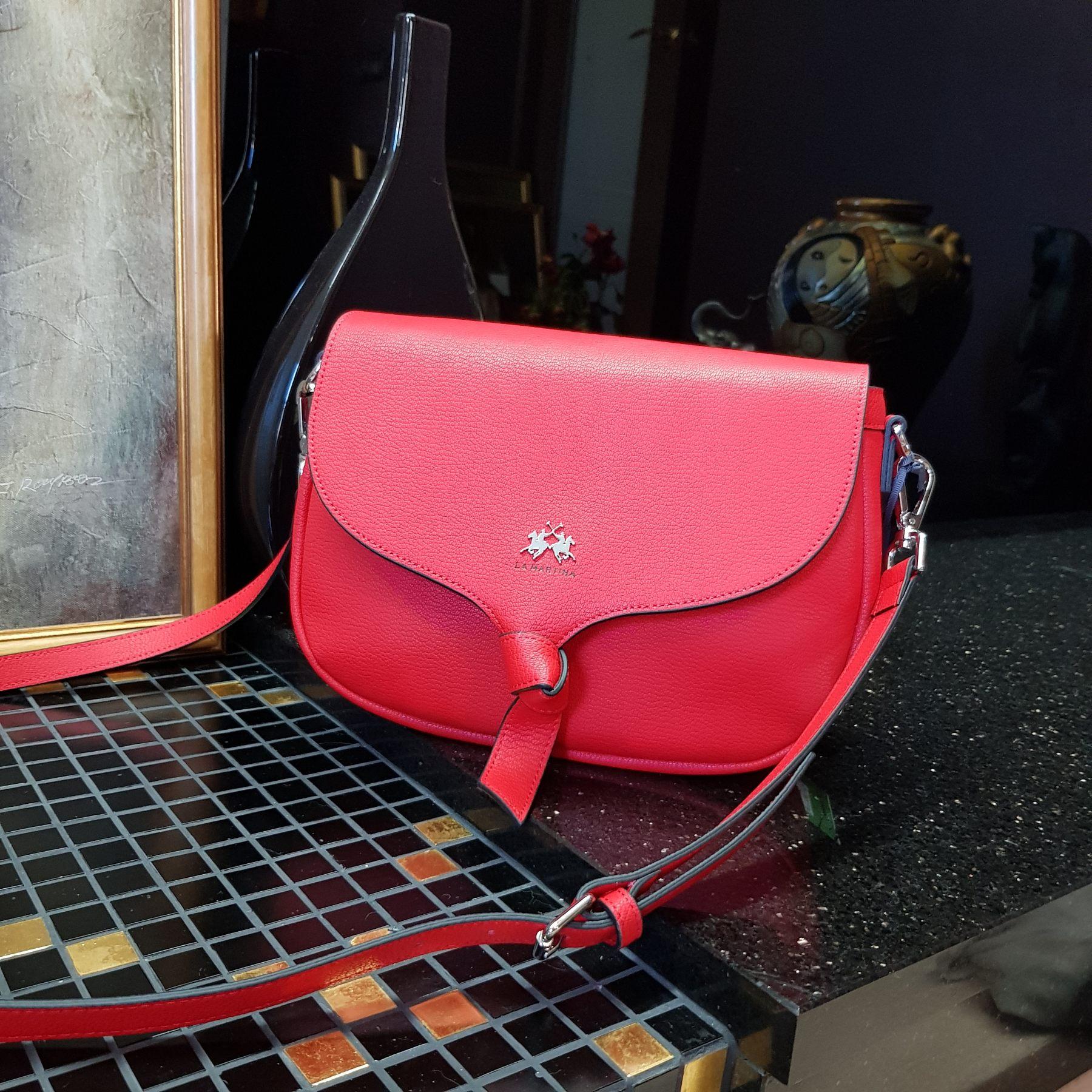Брендовая женская кожаная сумка седло (фото 2)