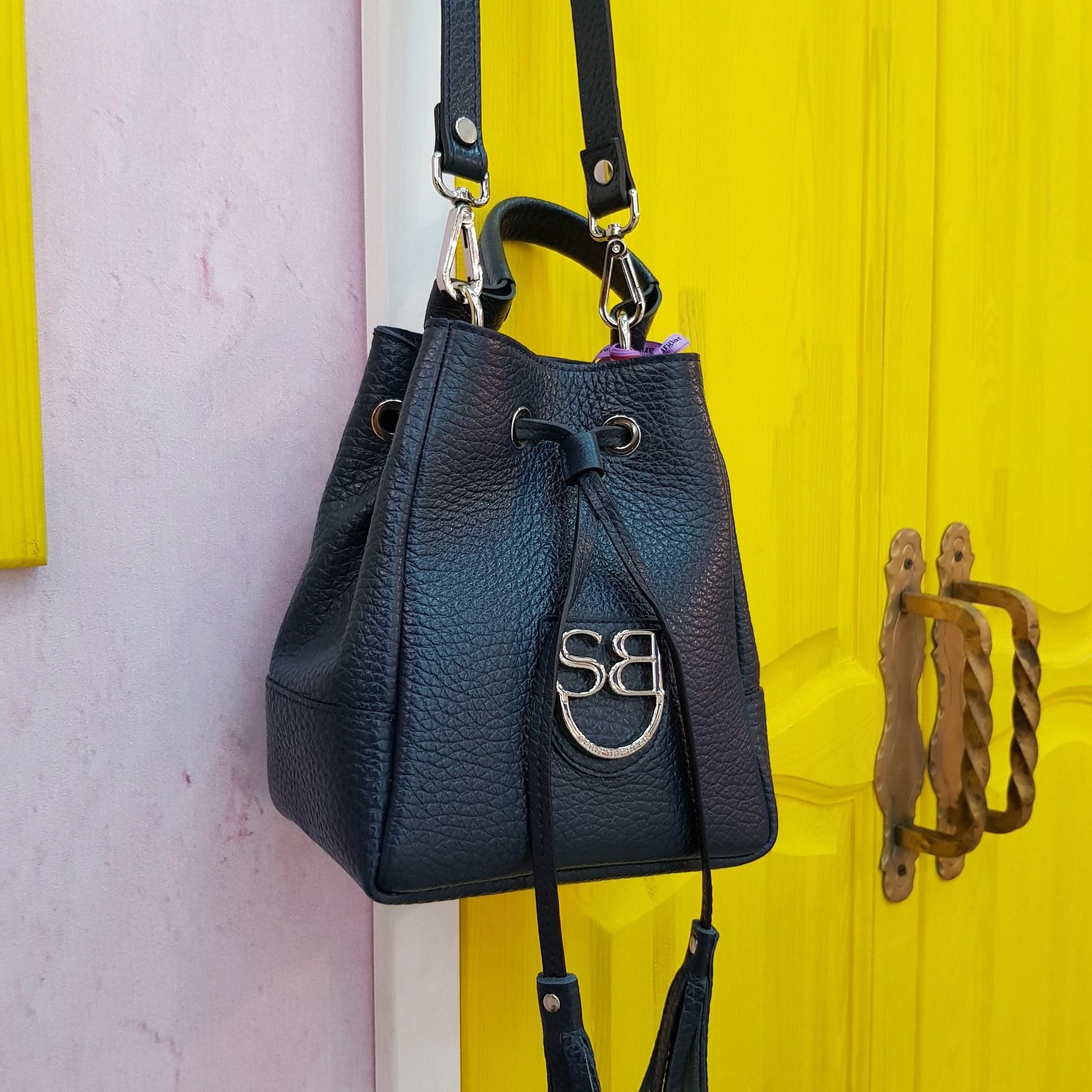 Брендовая женская кожаная сумка торба (фото 3)