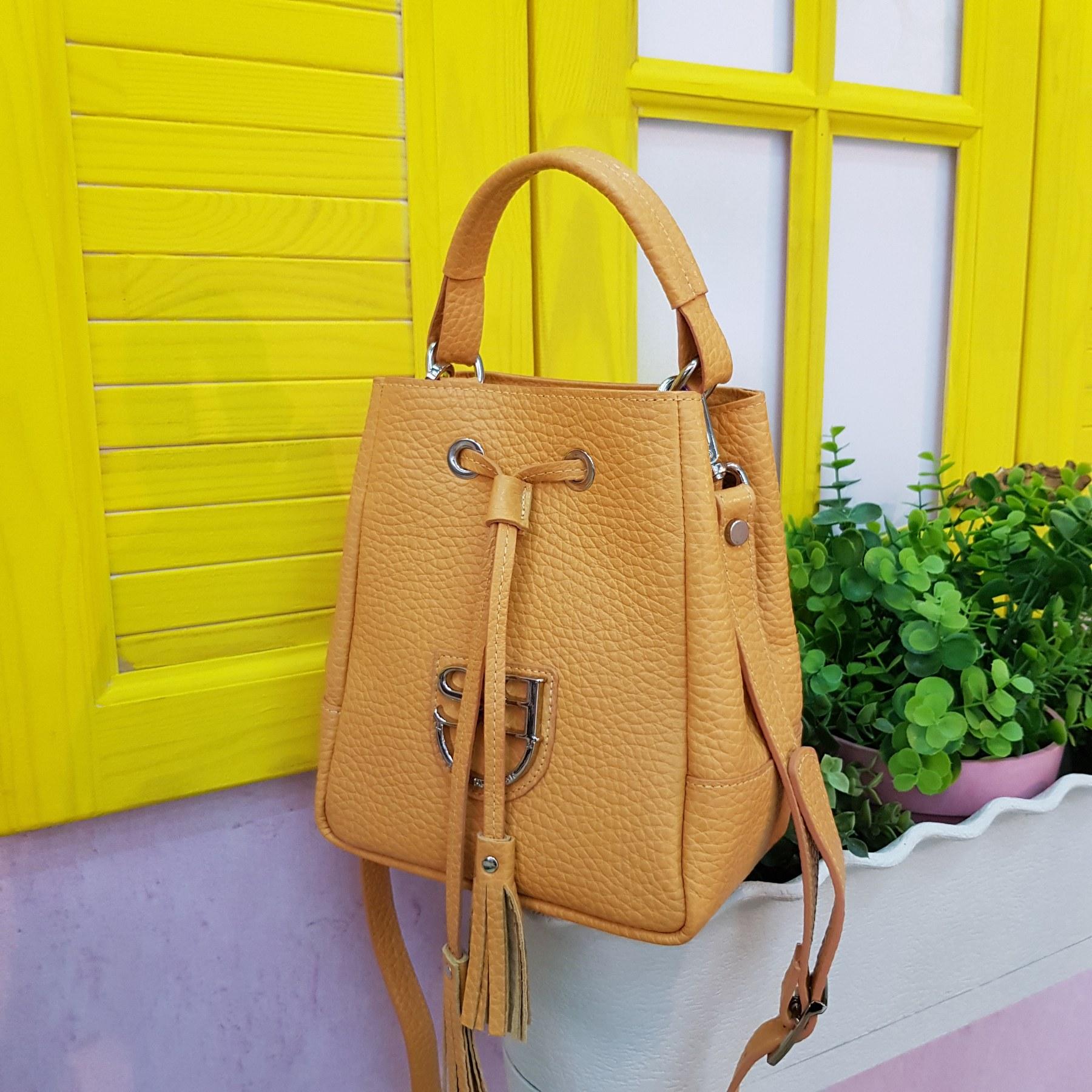 Брендовая женская кожаная сумка торба (фото 4)